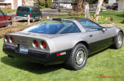 1987 Chevrolet Corvette Coupe, She is as stock as can be.