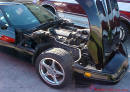 1992 Corvette coupe, black on black, 6 speed LT1