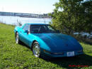 1994 Chevrolet Corvette Blue C4 Coupe