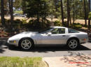 1996 C4 Chevrolet Corvette Silver Coupe with LT1 and six speed