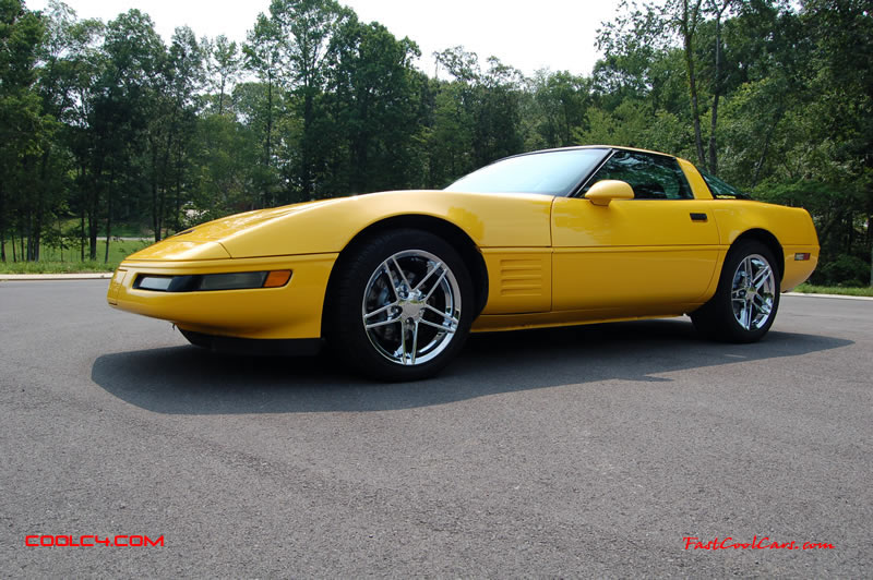 1994 Competition yellow Corvette